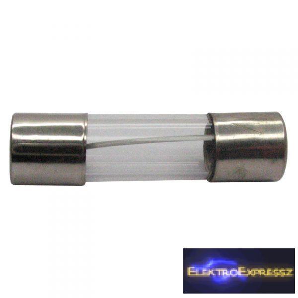 Image of 0.125A 5x20mm gyors kiolvadású üvegcsöves biztosíték.