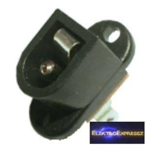 ET-2058 Beépíthető DC táp aljzat 2,5mm/5,5mm