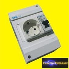 XBS MDA dugaszoló aljzattal egybeépített kismegszakító
