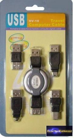USB átalakító készlet