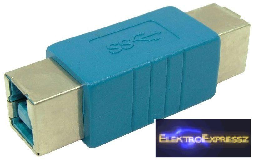 EMF-6836 Adapter,átalakító USB B 3.0,aljzat - USB B 3.0,aljzat