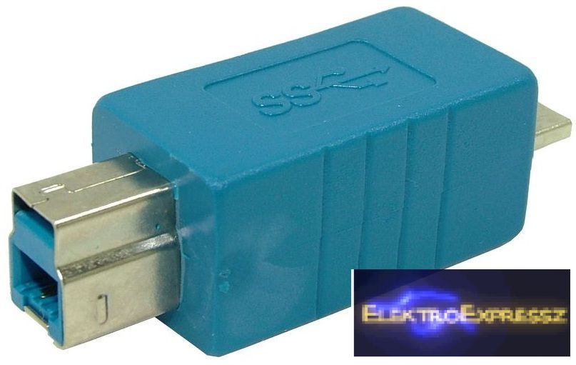 EMF-6835 adapter,átalakító micro USB 3.0 dugó - USB B 3.0,dugó